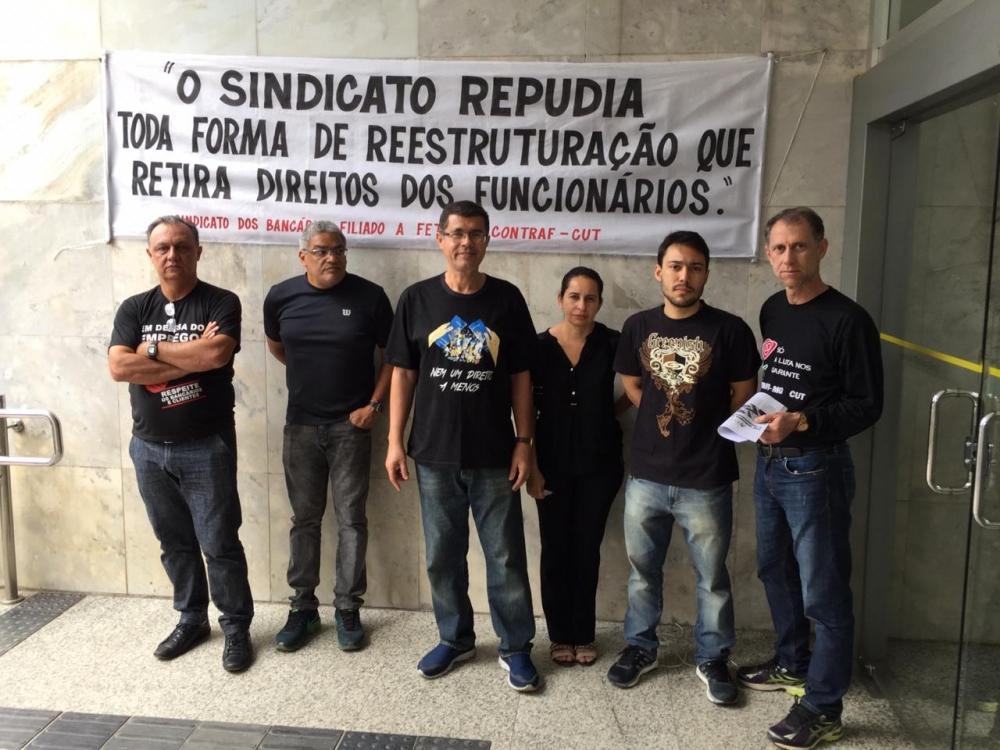 SINTRAF T.O E REGIÃO PARTICIPA DO DIA NACIONAL DE LUTA CONTRA A REESTRUTURAÇÃO NO BANCO DO BRASIL