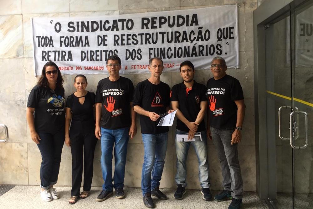 SINTRAF T.O E REGIÃO PARTICIPA DO DIA NACIONAL DE LUTA DO BANCO DO BRASIL