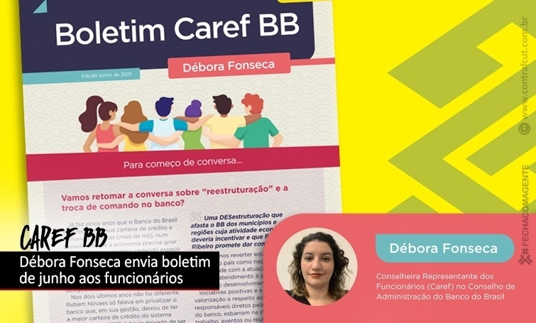 Caref do BB distribui segunda edição do seu boletim
